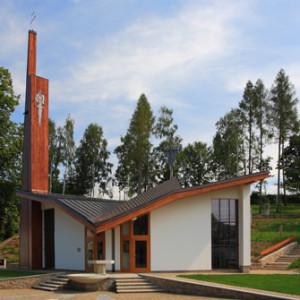 kostel Slavkovice
